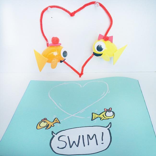 swim swim christmas ornament crafts for kids