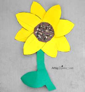 Sunflower-Craft-for-Elementry-Ages artsy momma