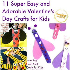 11 Super Easy and Adorable Valentine's Day Crafts for Kids