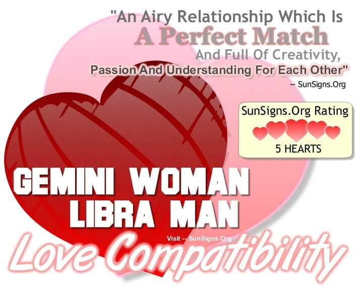 Gemini Woman Libra Man The Perfect Passionate Match Sunsigns Org