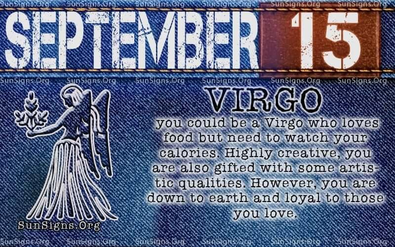September 15 Zodiac Horoscope Birthday Personality Sunsigns Org