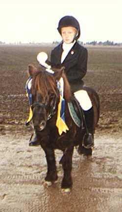 1998 Hösten Antons första tävling med Roxiti