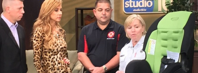 Studio 10 Discusses New Florida Car Seat Law With Sunstar