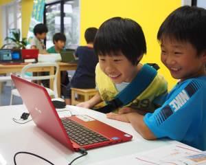 香川県高松・丸亀こどもITプログラミングものづくり教室サンステップ授業風景003