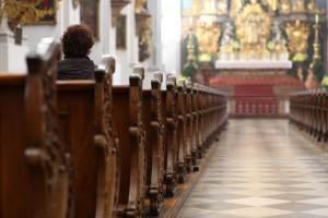 Kirche und IR Heizung