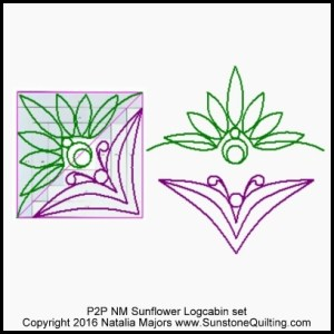 P2P NM Sunflower Logcabin (400x400)