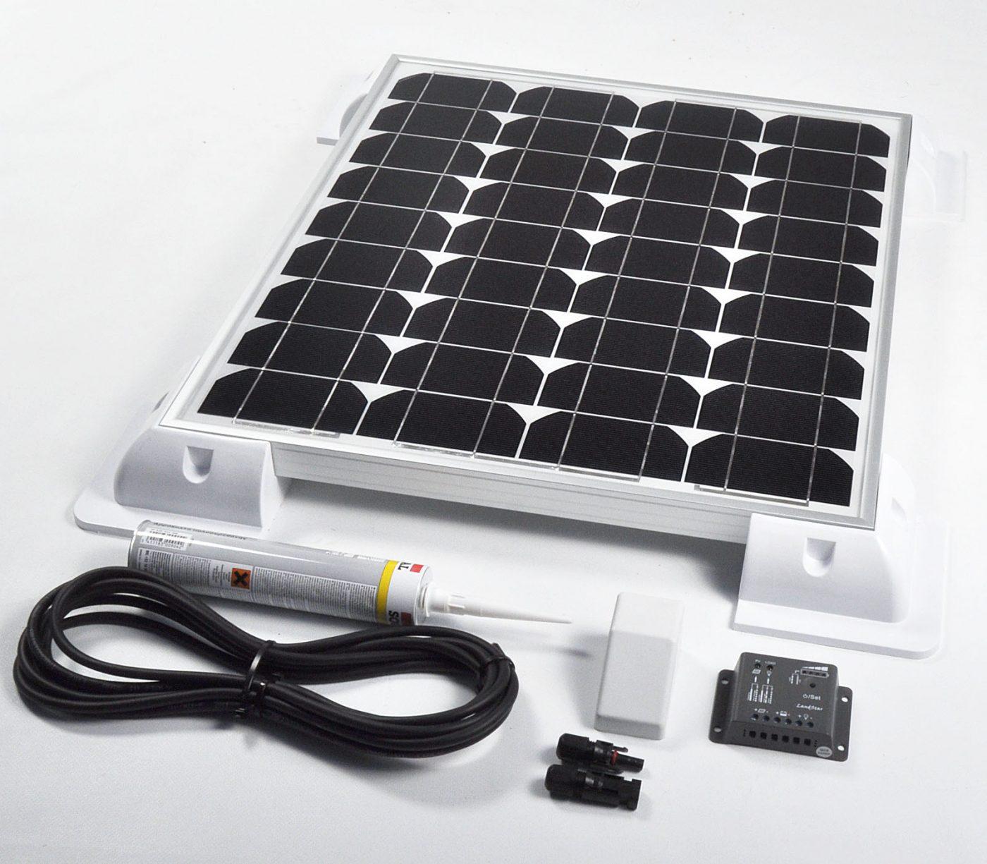 Battery Solar Kit Charger 12v