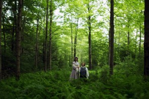 Joseph and Emma in the Sacred Grove - Plates of Gold