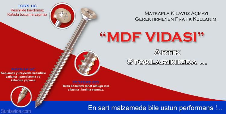 MDF Vidası