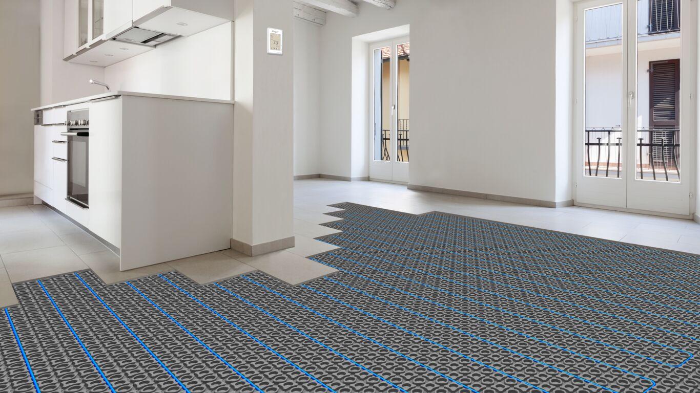 suntouch radiant floor heating snow