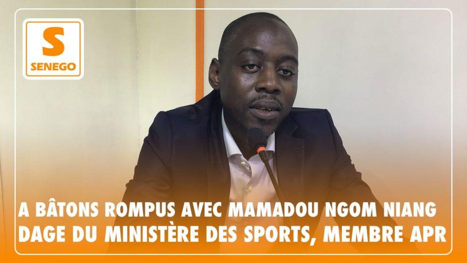 "Direct : ""A bâtons rompus"" avec Mamadou Ngom Niang (Apr) – Senego-TVParAnkou Sodjago 26/10/2020 à 19:37"