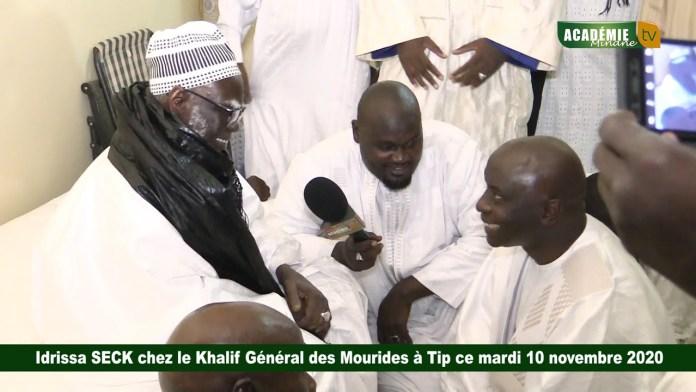 "Serigne Mountakha à Idy : ""Kou Khaam Yalla, Kham Diné nékhna Wakhaal…""(vidéo)ParKhadre SAKHO 10/11/2020 à 23:48"