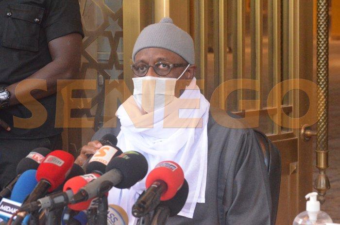 Serigne Mountakha Bassirou impose le port de masque à Massalikul JinaanParThierno Malick Ndiaye 14/01/2021 à 19:44