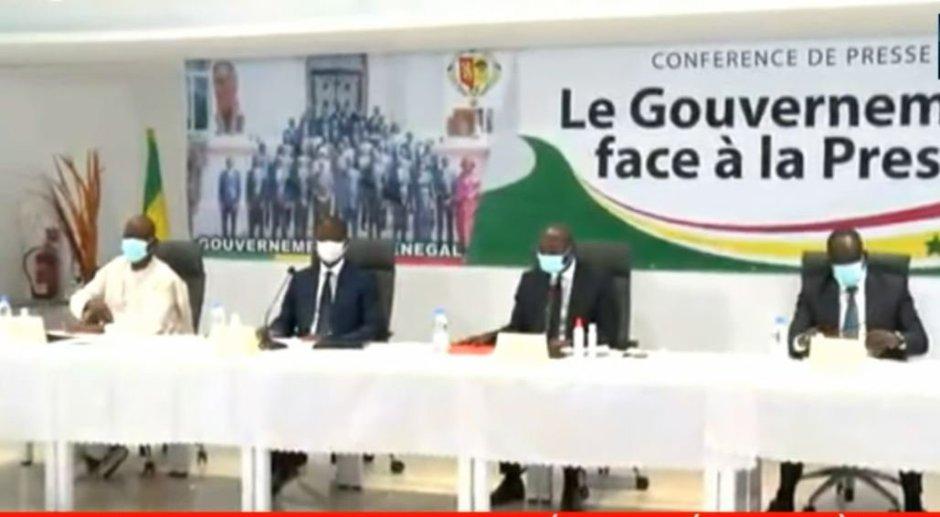 Suivez en direct sur Senego : Diouf Sarr, Antoine Diome et Mansour Faye, face à la presseParMangoné KA 07/01/2021 à 11:54