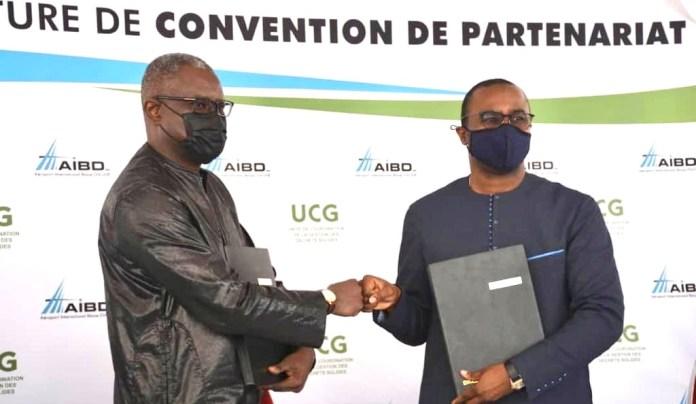 Signature de convention: Aibd/Ucg vers la concrétisation d'un projet de développement économique