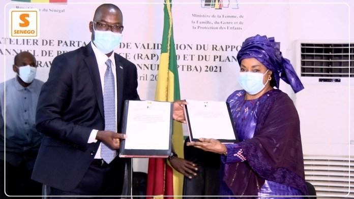 """Signature Convention – Ndèye Saly à Diattara : """"Le numérique est un pas de plus pour les femmes""""ParYamoussa Camara 20/04/2021 à 20:05"""