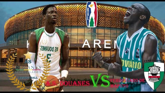 Basketball Africa League : Suivez en direct le match AS Douane vs Club Ferroviario MaputoParMandaw Mbengue 19/05/2021 à 15:30