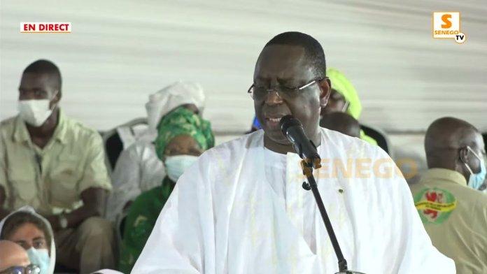 """Visite religieuse ou meeting politique – Macky lance les hostilités à Touba : """"Fi combat amou fi""""ParMaimouna SANÉ 18/09/2021 à 20:47"""