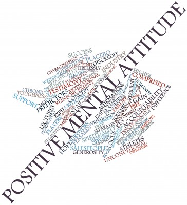 Positive mental attitude sales success