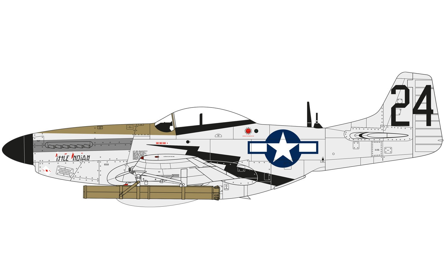 Airfix North American P51 D Mustang 1 48 A Online