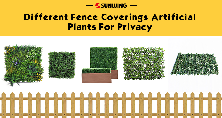 Different Fence Coverings For Privacy