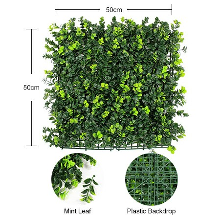component of artificial hedge panel