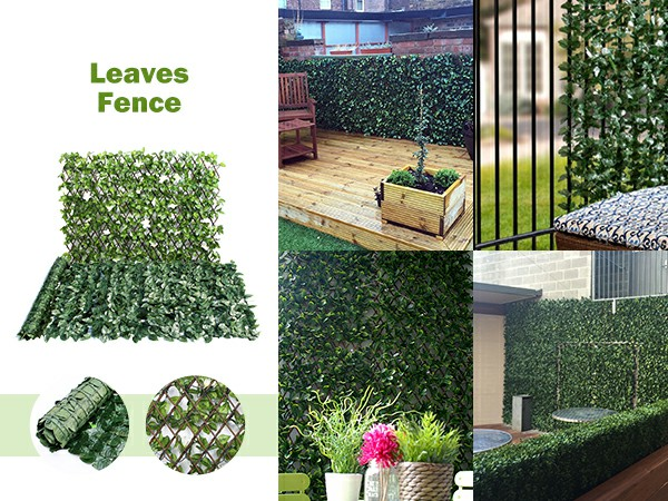 leaves fence and its application