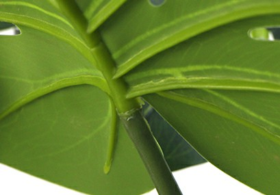 artificial monstera trees inpots leaves details sunwing