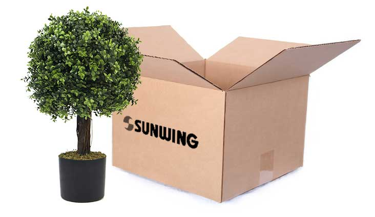 artificial plants pots manufacturer in china sunwing