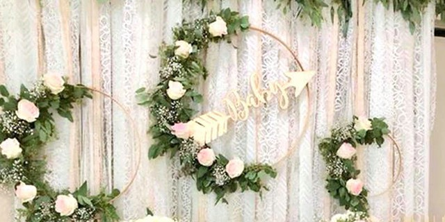 Artificial Floral Wreaths for Weddings