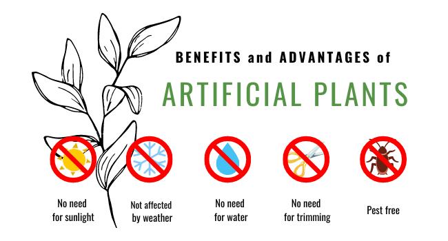 Advantages Of Artificial Plants