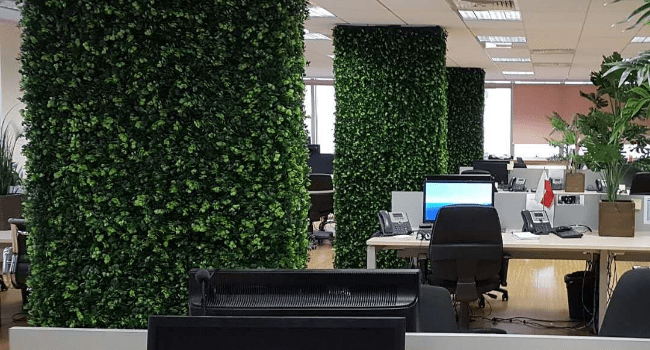 Artificial Hedges For Workplaces