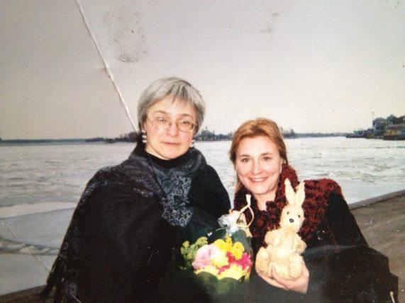 Anna Politkovskaya Iida Simes Helsinki 042002