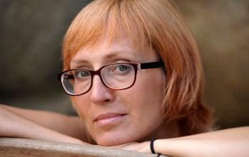 Author, poet Kätlin Kaldmaa is the chair of Estonian PEN and secretary for PEN International. Photo: Toomas Volmer