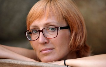 Author, poet Kätlin Kaldmaa is the chair of Estonian PEN and secretary for PEN International. Photo: Toomas Volmer