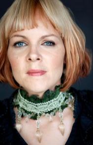 Author Venla Hiidensalo is the president of Finnish PEN. Photo: Jouni Harala.