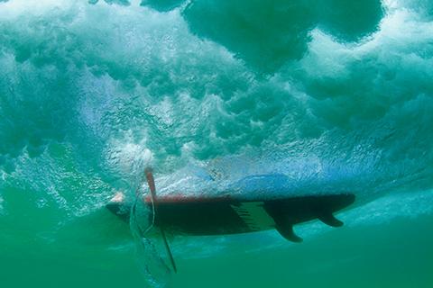 underwater glide by