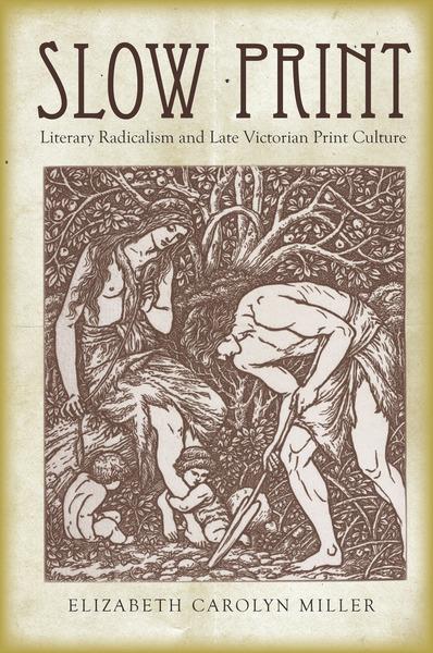 Cover of Slow Print by Elizabeth Carolyn Miller