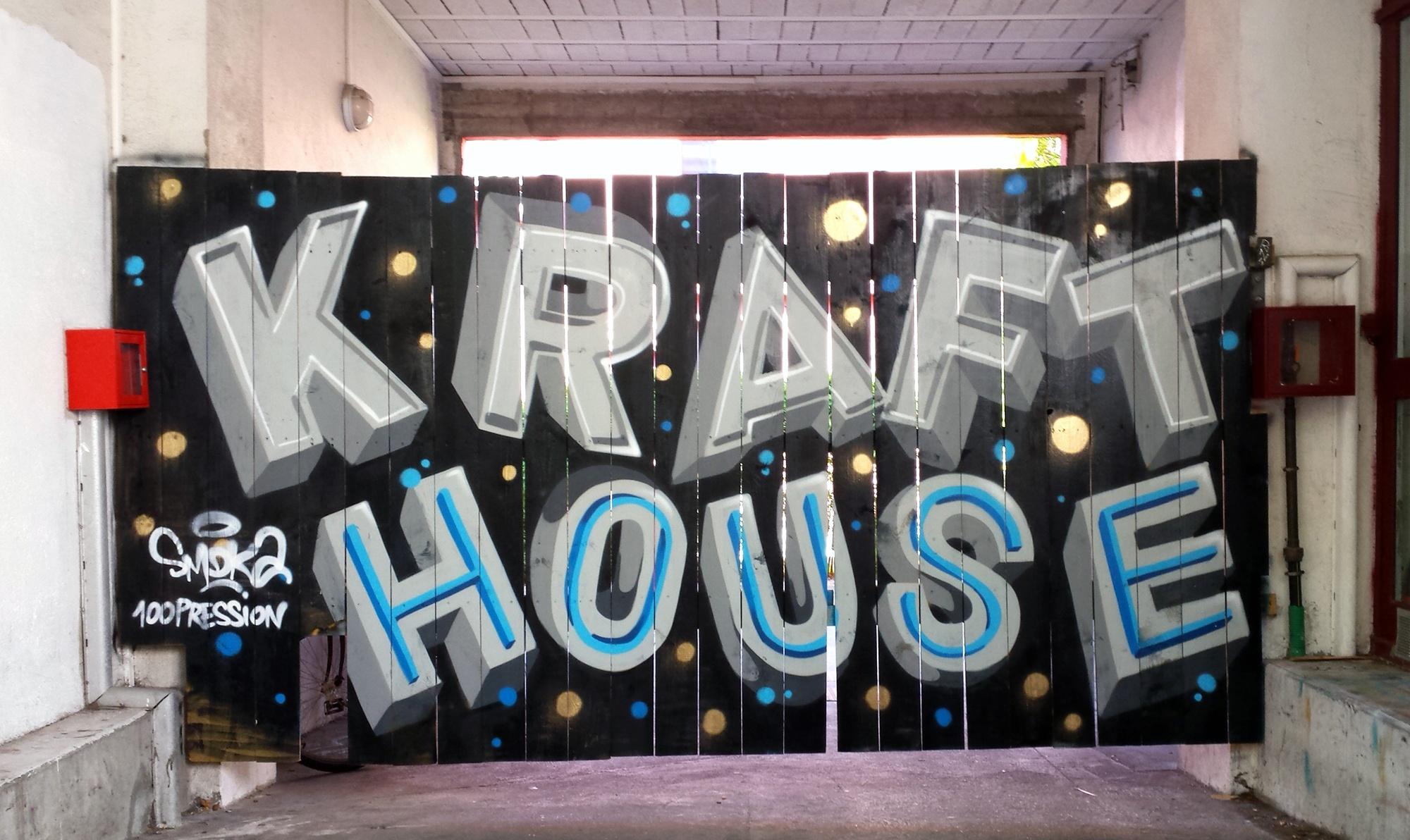 KRAFT HOUSE LETTERING