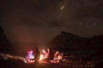 Blue lagoon cove camp fire