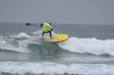 Alex Murray in action at Watergate Bay