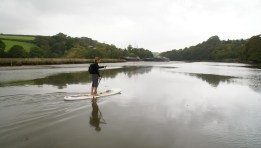 Come on girls - give SUP surfing a try this year
