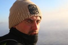 Jared Munch SUPing Lake Superior