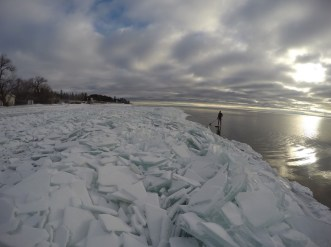 SUPing Lake Superior