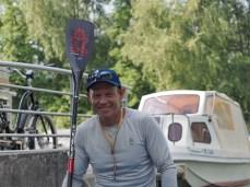 Bart de Zwart SUP distance record