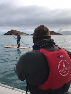 Ben Fisher's full on SUP Challenge... Celtic crossing 'bandit run'!