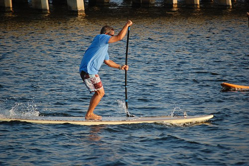 Best SUP Stance for Beginners