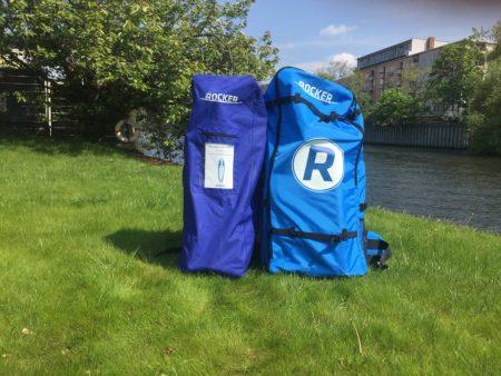 2 inflatable backpacks