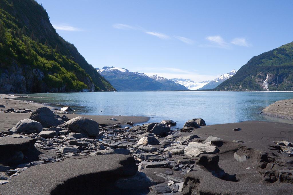 Black Sand Beach Alaska