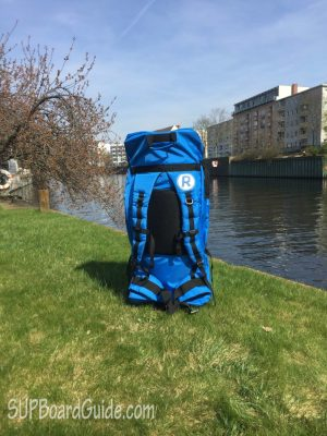 Well padded backpack with straps
